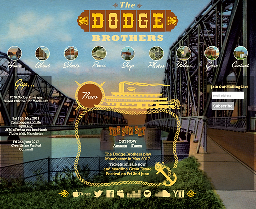 The Dodge Brothers' Website