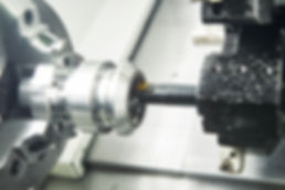 cutting tool counterboring a hole at met
