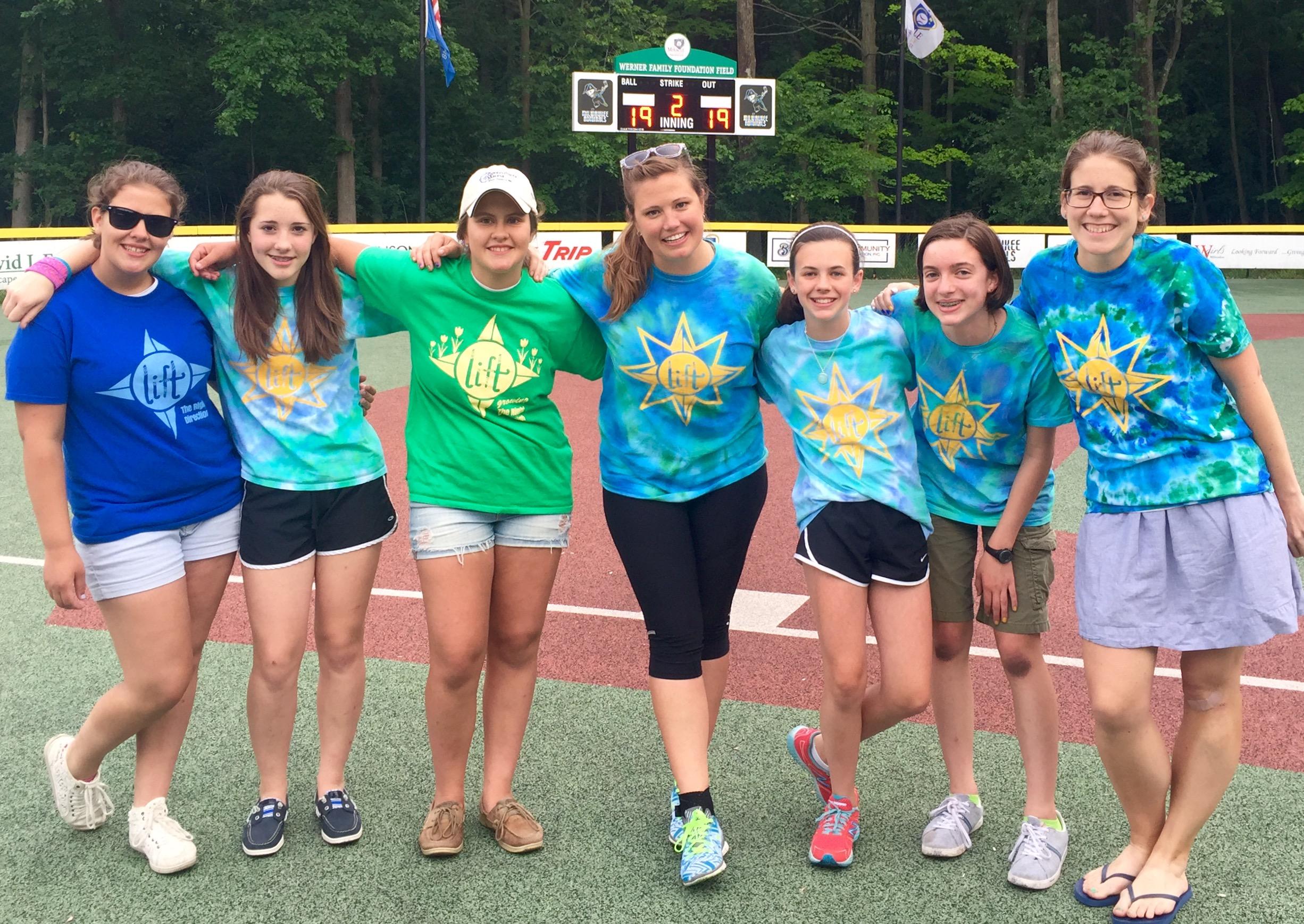 Miracle League volunteering