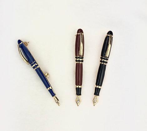 Брошь ручка