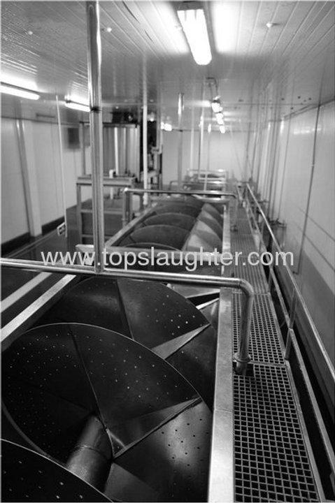 Chicken processing equipment water chiller machine (Halal)