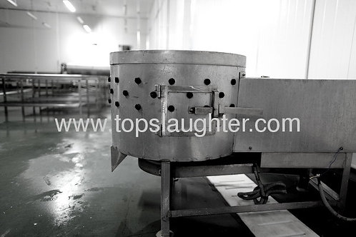 Poultry slaughterhouse machine giblet washer
