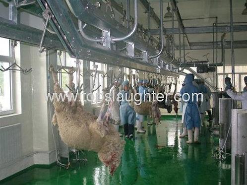 Slaughtering equipment goat parallel pre peeling
