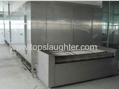 IQF Tunnel Freezer For Meat Processing