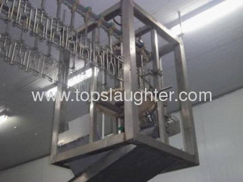 Poultry processing machine feet cutter (Islamic)