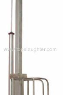 Cattle processing equipment Single column pneumati