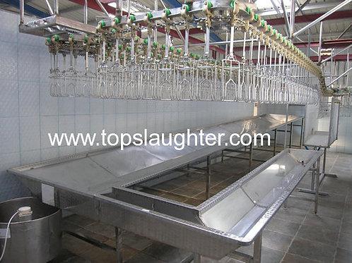 Food Processing Industry Chicken Abattoir Equipment