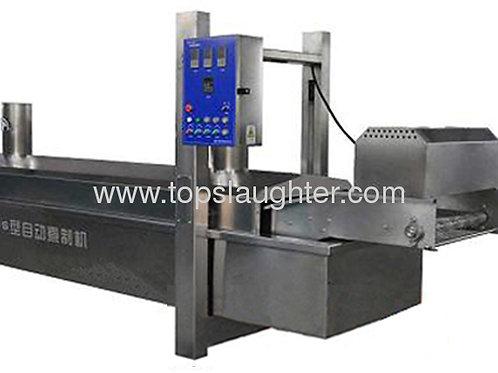 Food machine pre-boiling/ pre-cooker machine
