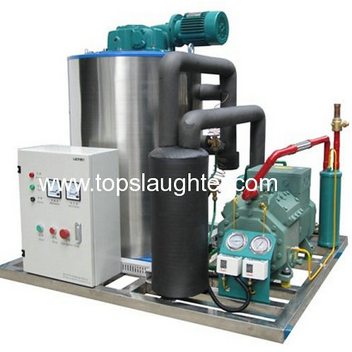 Ice Flaker and Maker used with Chicken Processing Equipment Water Chiller