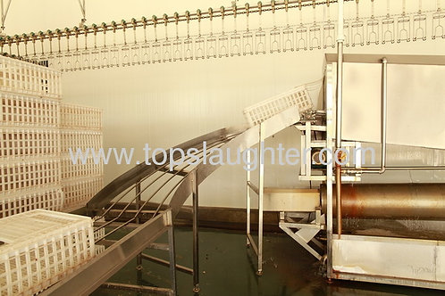 Poultry processing equipment Cage Washer (Muslin)