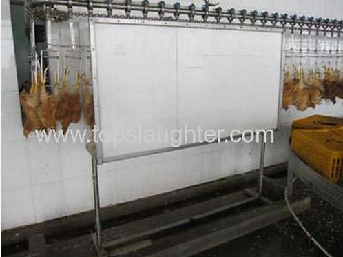 Chicken processing equipment water bath stunner Power Supply (instruction manual