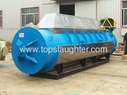 Rendering equipment slaughterhouse waste treatment