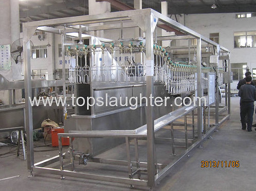 Chicken Processing Equipment Mobile Type For 500 Bph Line (Islamic)