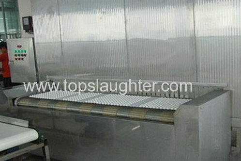 IQF Tunnel Freezer 1000 KG Per Hour for Food Proce