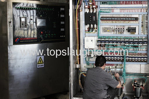 Rendering plant equipment Electrical control cabin