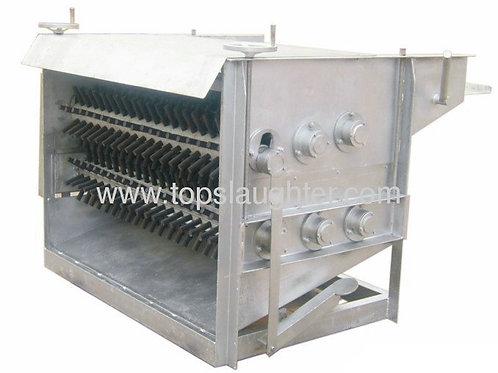 Slaughterhouse equipment sheep debristling machine