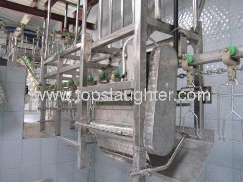 Poultry slaughter machine feet unloader (Halal)