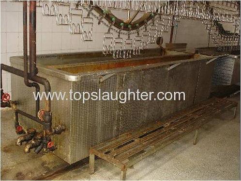 Duck Goose Processing Equipment Waxing Tank