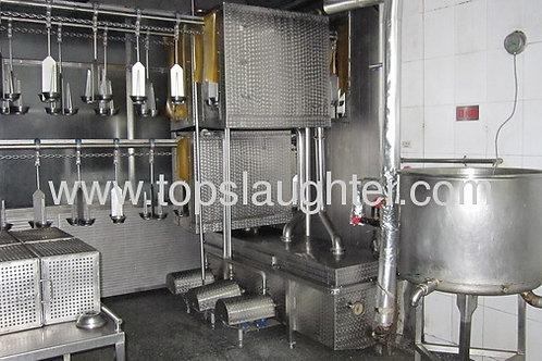 Chicken slaughter machine air chilling line (Muslin)