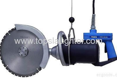 Cattle abattoir equipment Four parted cutting saw