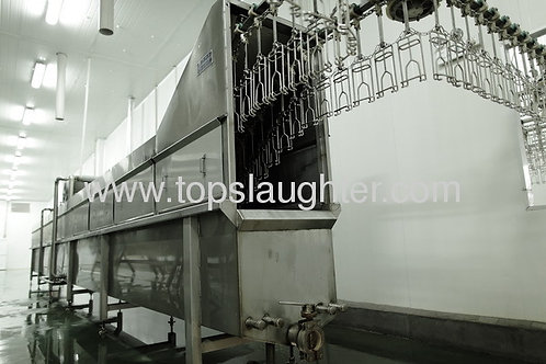 Chicken processing machinery poultry scalder