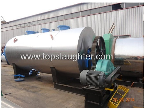 Rendering Plant Hydrolyzing Tank for Poultry Slaug
