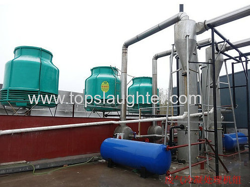 Rendering Equipment Waste Gas Treatment System