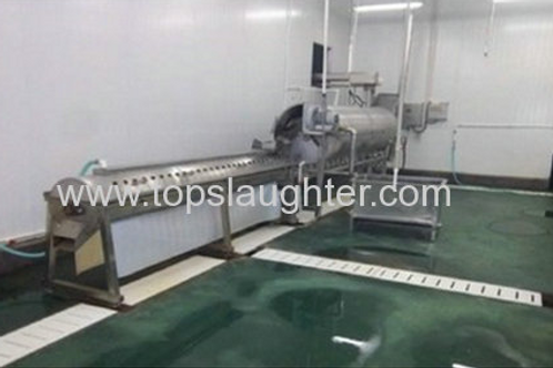 Poultry Processing Equipment Chicken Feet Processing Line