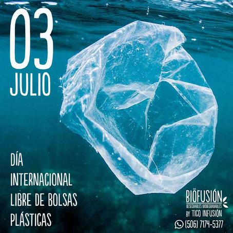 03 de Julio, Día internacional Libre de Bolsas Plásticas.