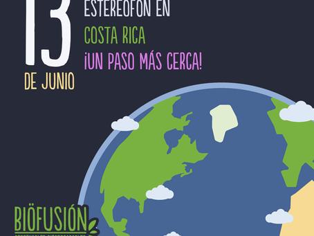 Costa Rica libre de recipientes de estereofón.