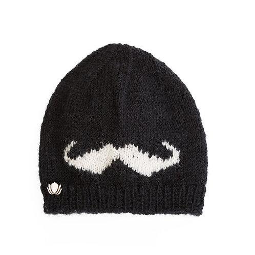Moustache Slouchy,Black