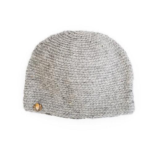 Sherpa Beanie, Light Grey
