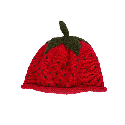 Strawberry Beanie, Red