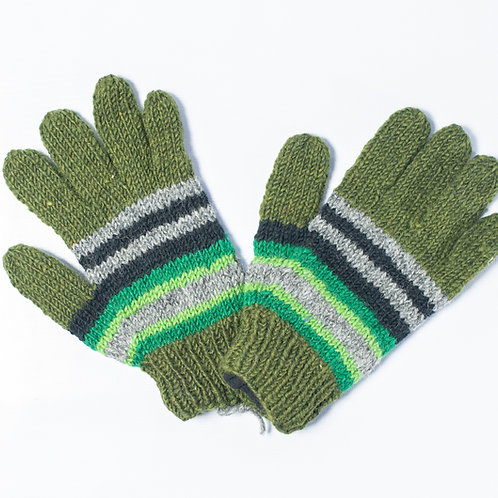 Stripped Gloves