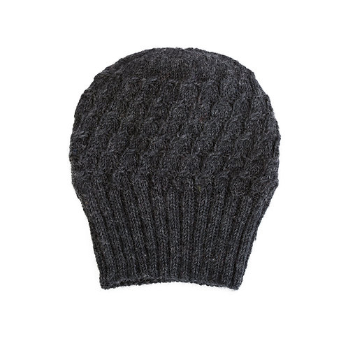 Space Eyed Slouchy Beanie,Charcoal