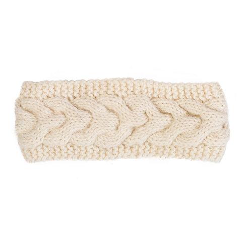 Cable Headband Cream