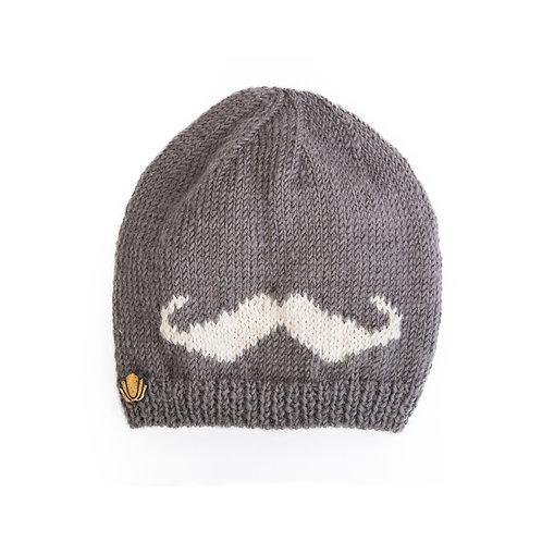 Moustache Slouchy,Grey