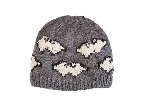 Tibetan Cloud Beanie, Grey
