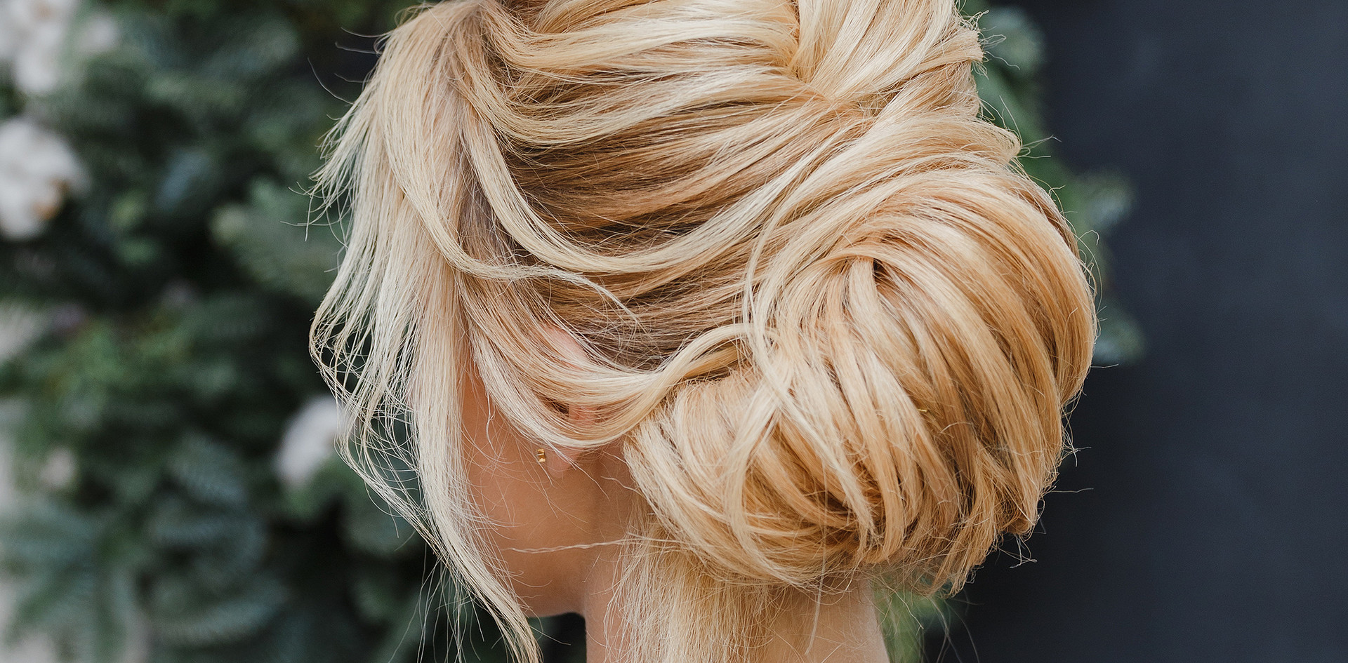 Hair Styling updo