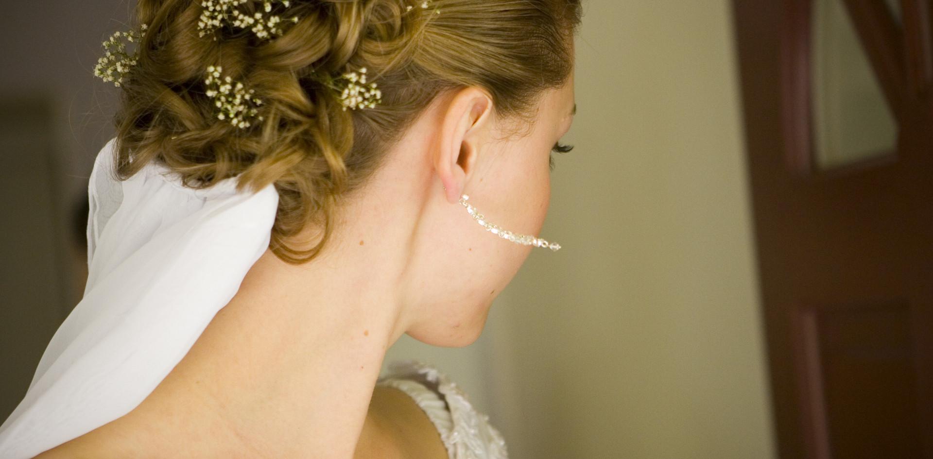 Updo Wedding Hair Stylist