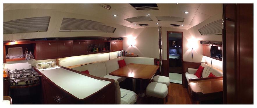Aluguel de veleiro de 50 pés