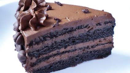 Triple Chocolate Keto Cake