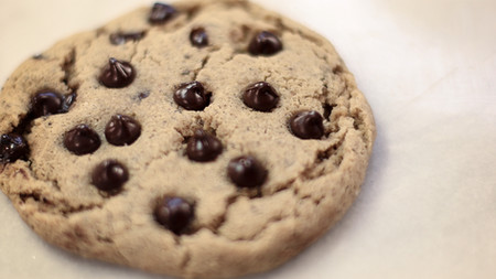 40 Second Chocolate Chip Cookie