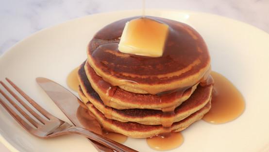 Keto Cinnamon Pancakes