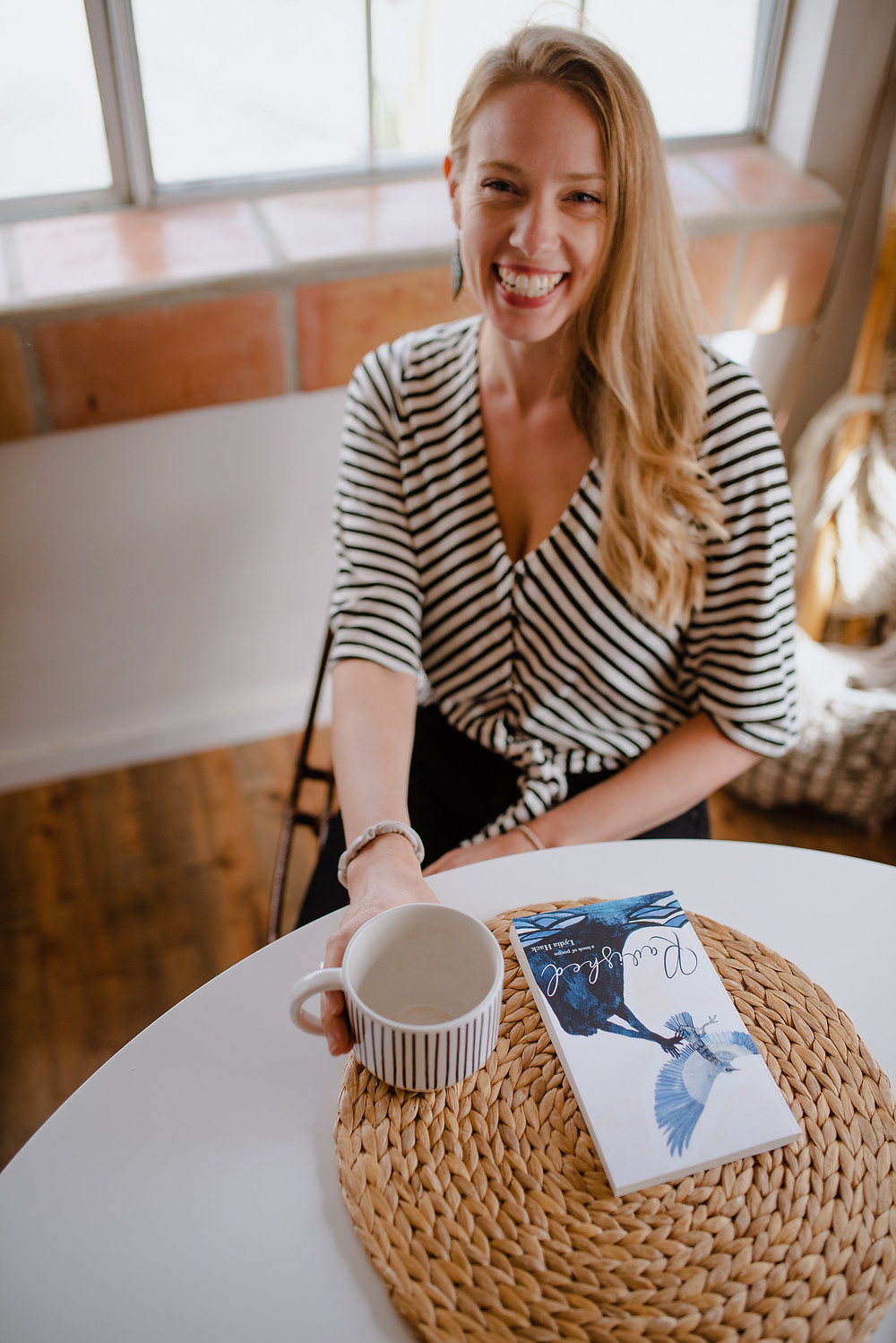 Lydia Hack and her book Ravished photo by Allie Korrine Photography