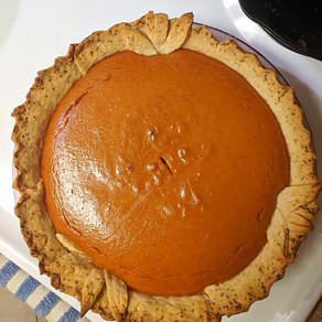 Aunt Marilyn's Pumpkin Pie