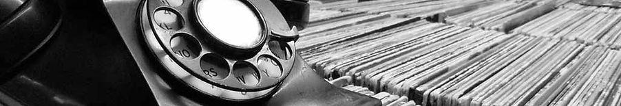 Tapelab, contact, vintage telefoon, vinyl