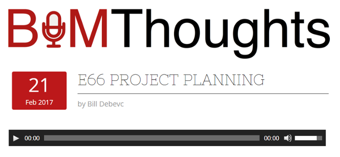 BIM Thoughts Podcast - Project Planning