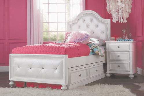 Madison Upholstered Twin Bed