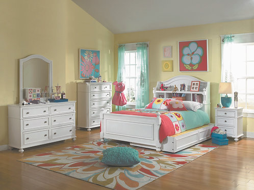 Madison Bookcase Twin Bed